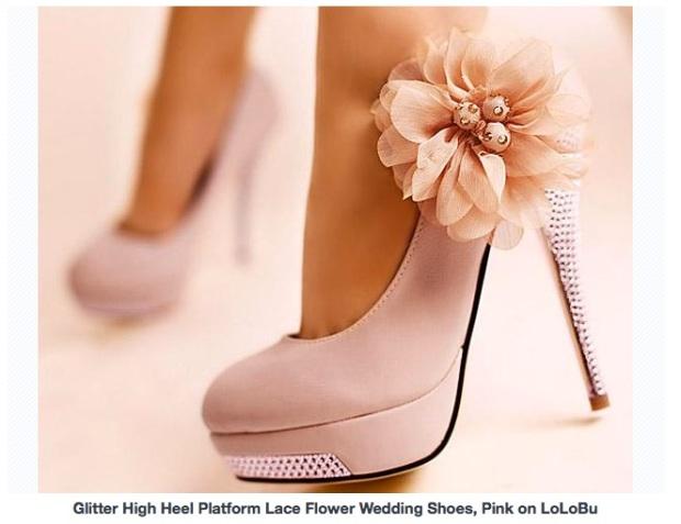 chaussure Pink on lolobu
