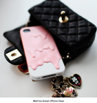 Coque Iphone - Glace qui fond