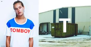 Tshirt TOMBOY -Fille à papa