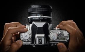 Nikon Df vu de dessus