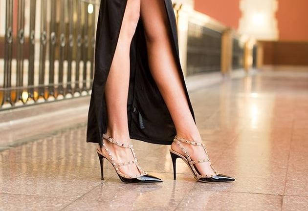 chaussure valentino rockstud