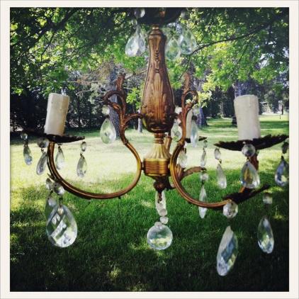 Le nouveau chandelier de l'Ideal Studio