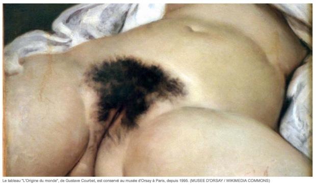 L'origine du monde de Gustave Courbet
