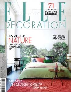 elle décoration couverture mai 2015