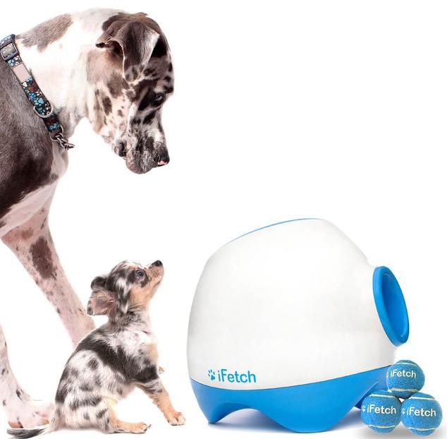 Lanceur de balle automatique pour chien ifetch ideal mag - Lanceur de balle pour chien automatique ...